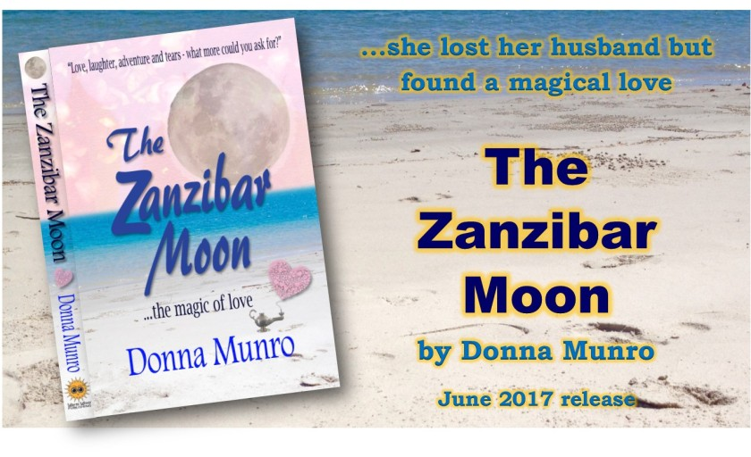 The Zanzibar Moon novel by Donna Munro