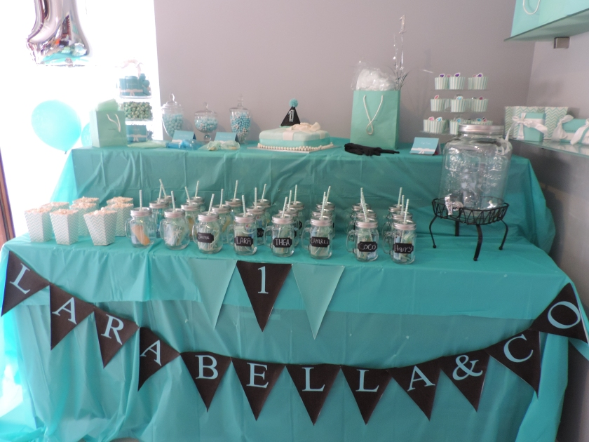 Tiffany and Co Themed Party for Larabella.