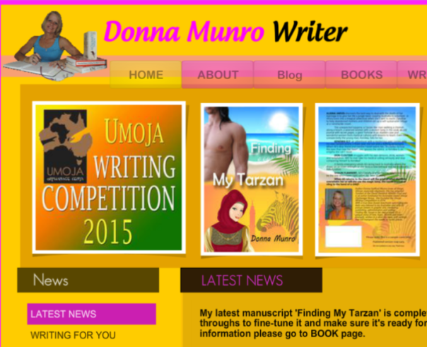 www.warmwittywords.com.au Donna Munro Writer Official Website.