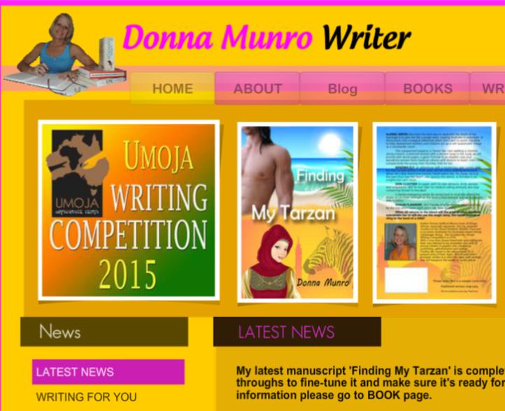 www.warmwittywords.com.au Donna Munro Writer Official Website.