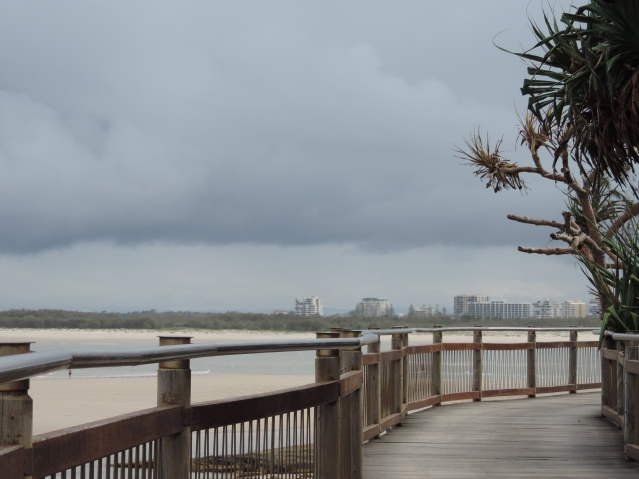 Find a great place to exercise. Even in a storm the Caloundra Kings Beach walkway was a motivator for me.