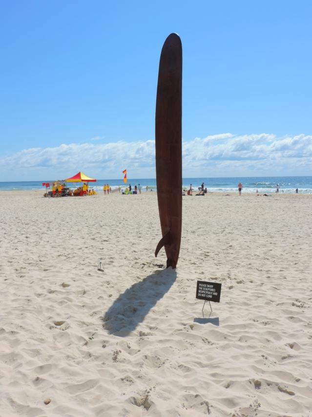 Currumbin Beach Swell Sculpture