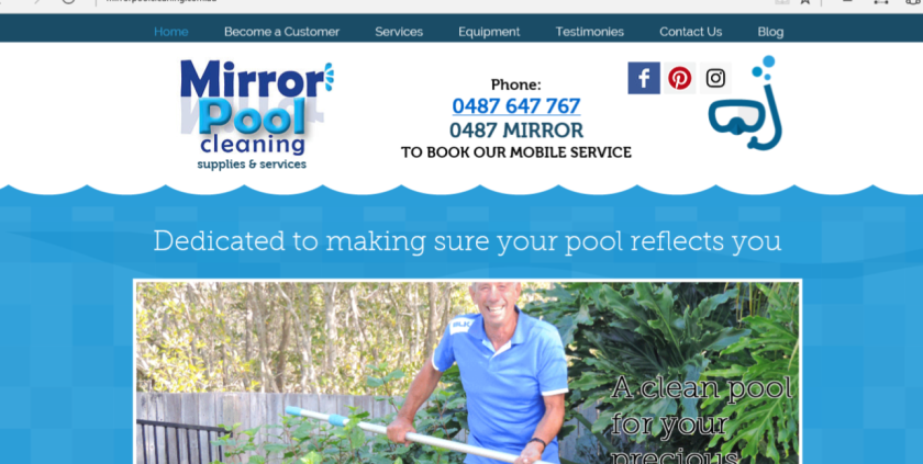 Mirror Pool Cleaning Gold Coast