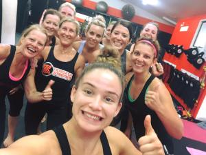 kick fit, Hammer Fit, Chelsea Hackett, fitness, Muay Thai