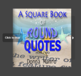 A Square Book of Round quotes by Donna Munro