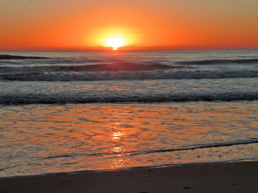 Currumbin Beach, Queensland sunrise