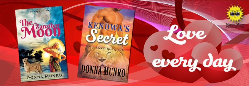 The Zanzibar Moon, Kendwa's Secret, Donna Munro author