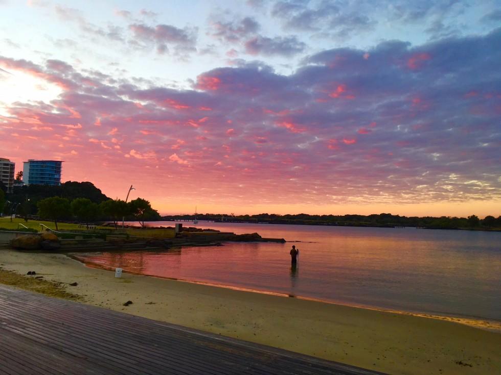 Morning at Jack Evan's Boat Harbour, Tweed Heads, NSW, Australia.