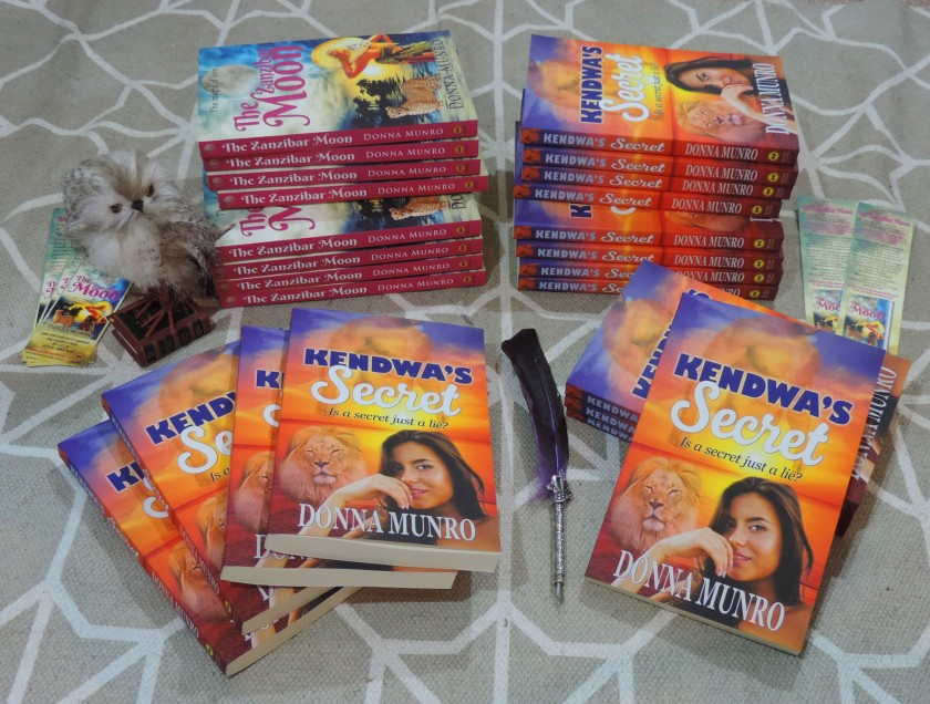 Kendwa's Secret, books, romance