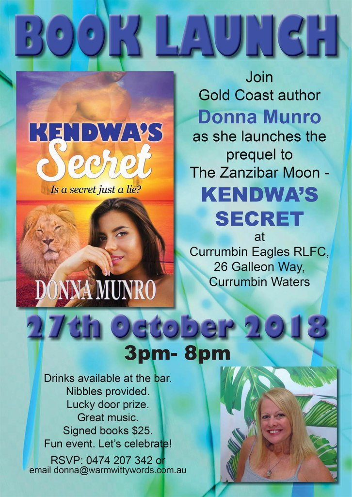Kendwa's Secret Book Launch