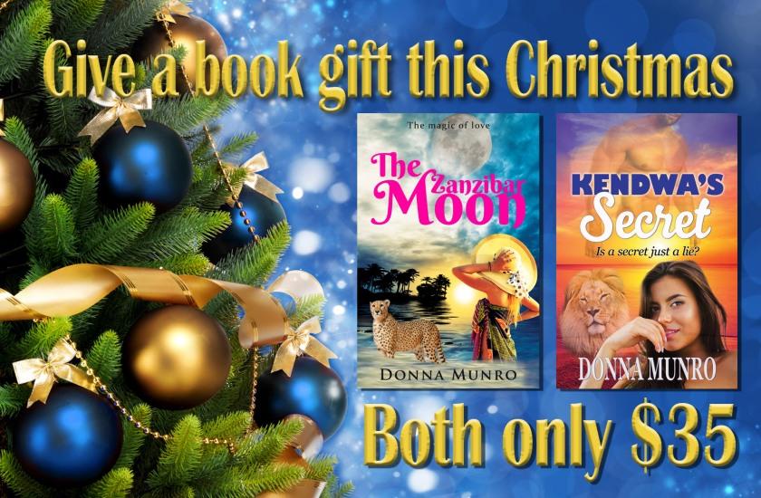 Kendwa's Secret, The Zanzibar Moon, Donna Munro author