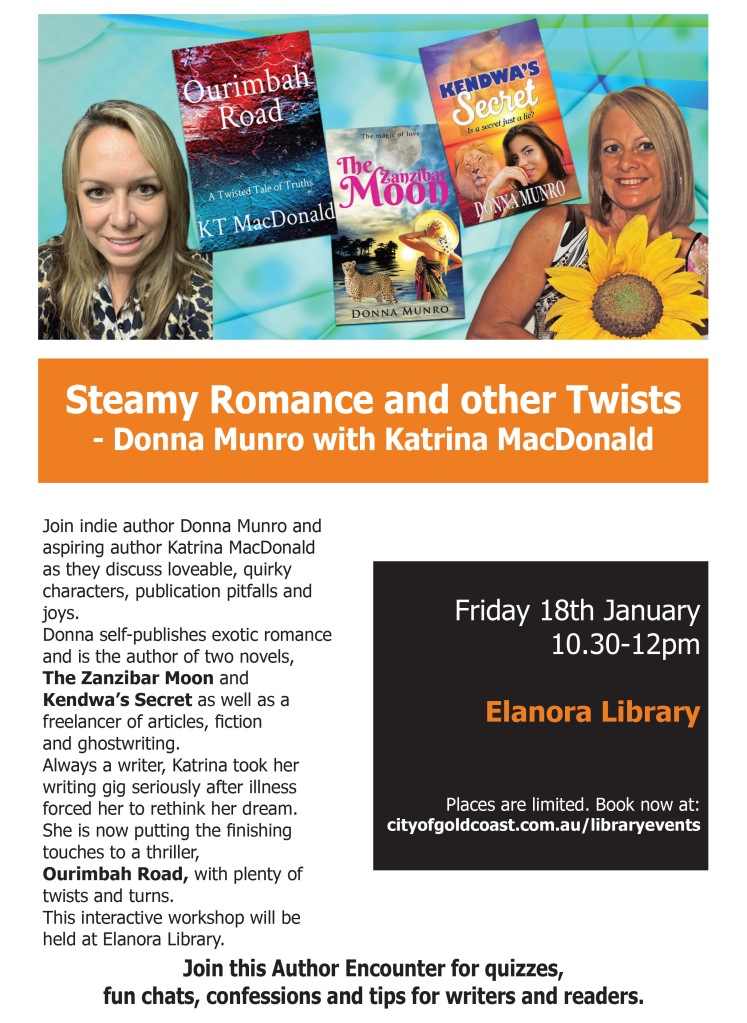 author encounter elanora library donna munro & katrina macdonald